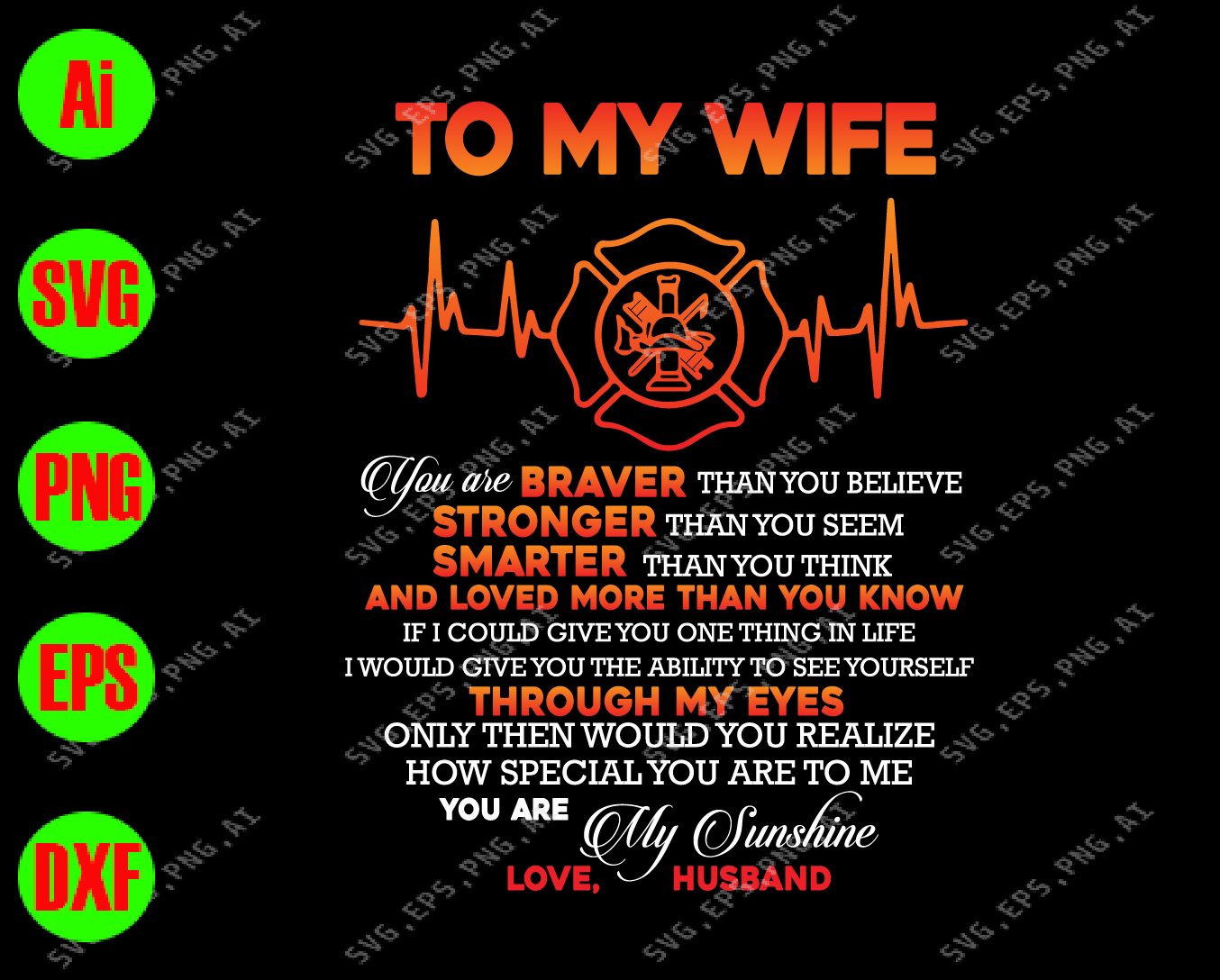 Is stronger me my wife than My wife