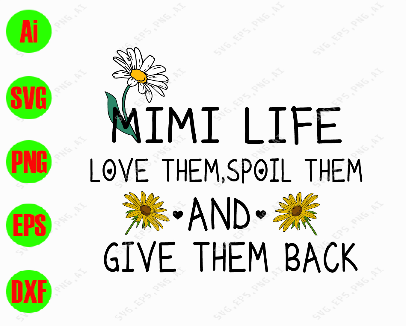 Download Mimi life love them, spoil them and give them back svg ...